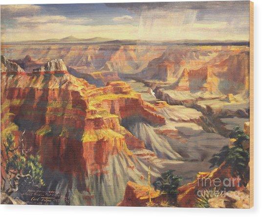 Point Sublime - Grand Canyon Az. Wood Print