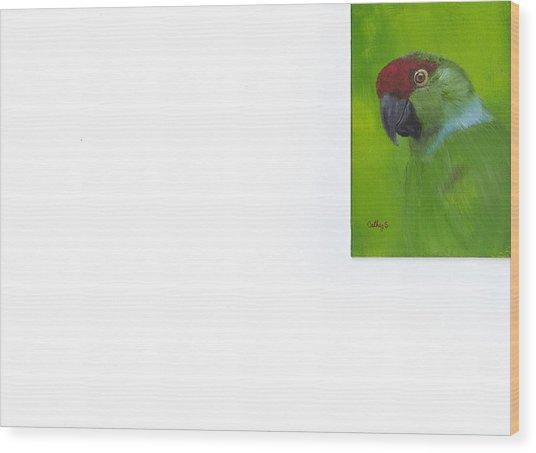 Polly Wood Print by Catherine Swerediuk