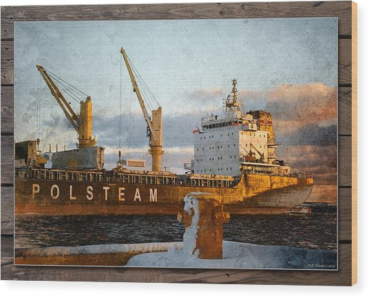 Polsteam Wood Print