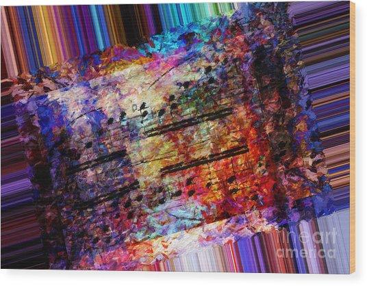 Polychromatic Postlude 1 Wood Print