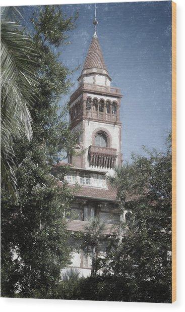 Ponce De Leon Hall Wood Print