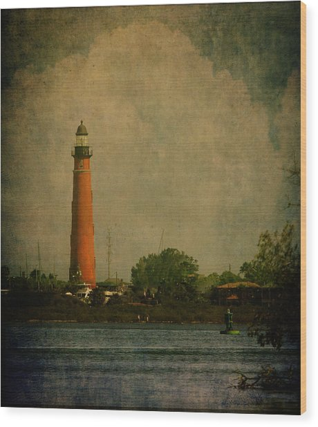 Ponce De Leon Light House Wood Print