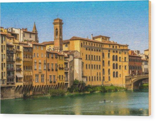 Ponte Vecchio Itl3304 Wood Print