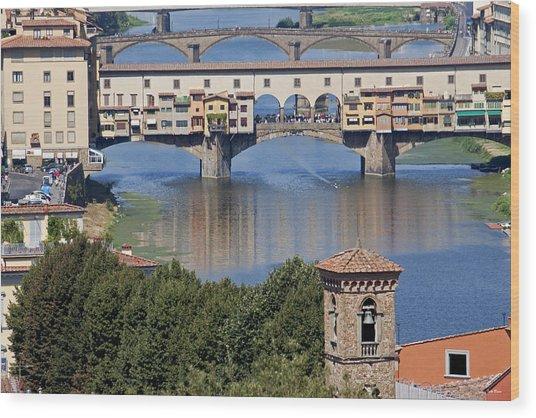 Ponte Vecchio Wood Print