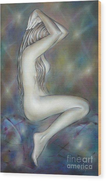 Porcelain Nude 080810 Wood Print