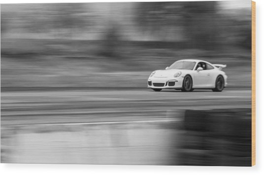 Porsche 911 Gt3 Supercar Wood Print