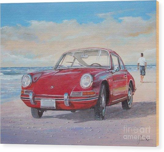 1967 Porsche 912 Wood Print
