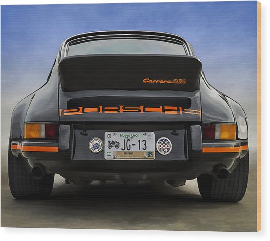 Porsche Carrera Rsr Wood Print