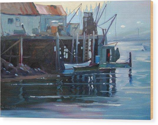 Port Clyde Maine Wood Print