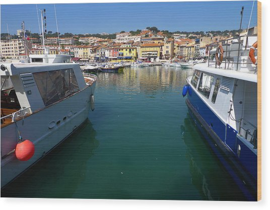 Port De Cassis Wood Print