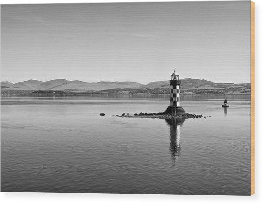 Port Glasgow Lighthouse Wood Print