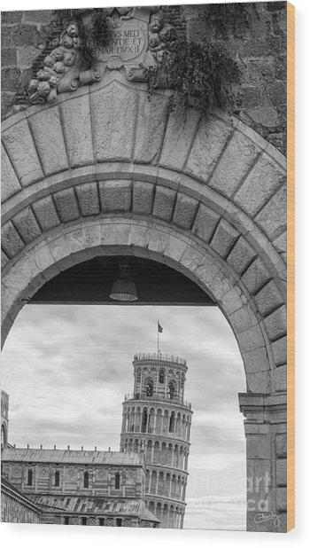 Porta Di Pisa Wood Print
