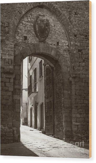 Porta Florentina Wood Print