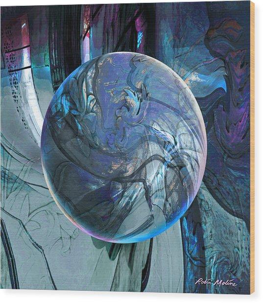 Portal To Divinity Wood Print
