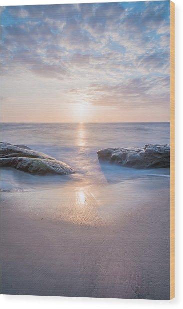 Portal To The Sun Wood Print