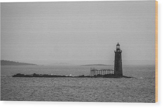 Portland Maine Lighthouse  Wood Print