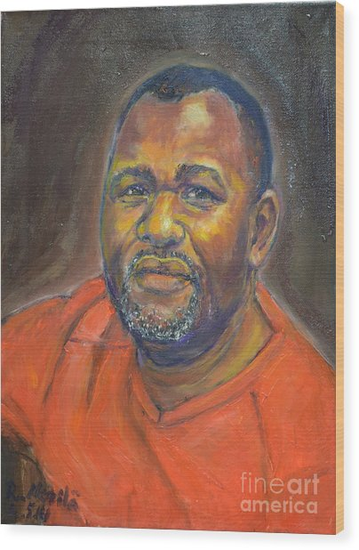 Portrait Of Felly Wood Print