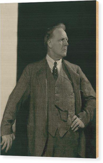 Portrait Of Feodor Chaliapin Wood Print
