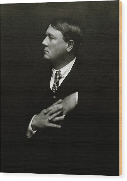 Portrait Of Lord Northcliffe Wood Print