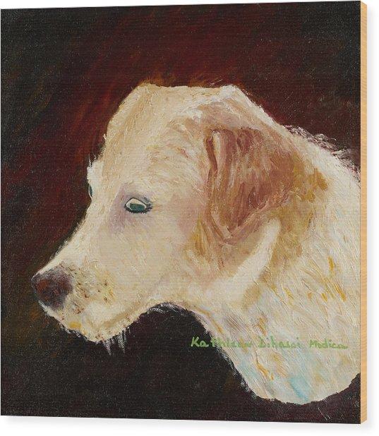 Portrait Of Luke Wood Print