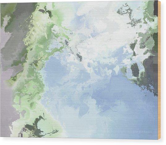 Poseidon Enosichthon Wood Print