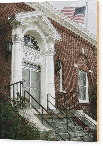 Post Office 38242 Wood Print