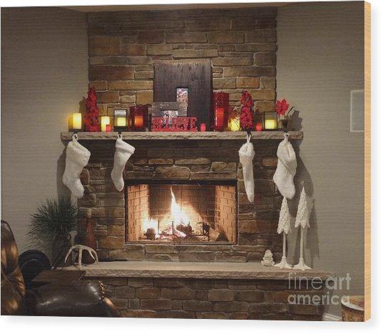 Postcard Perfect Wood Print