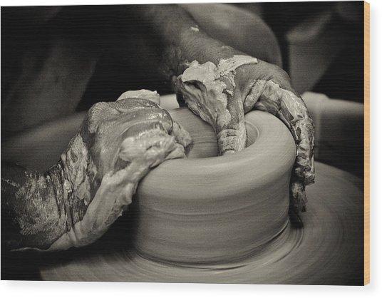 Potter Wood Print