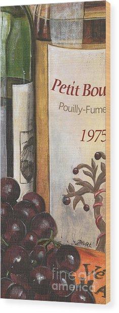 Pouilly Fume 1975 Wood Print