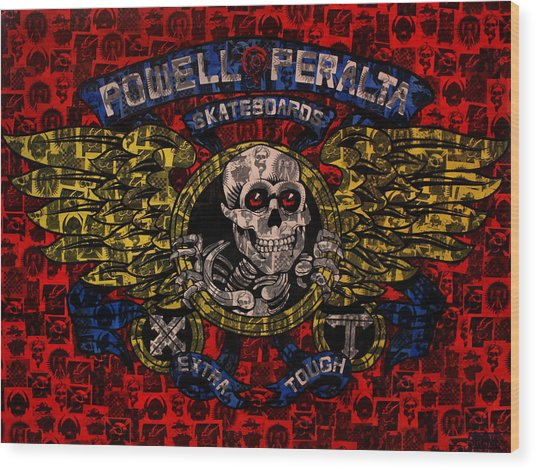 Powell Peralta Wood Print