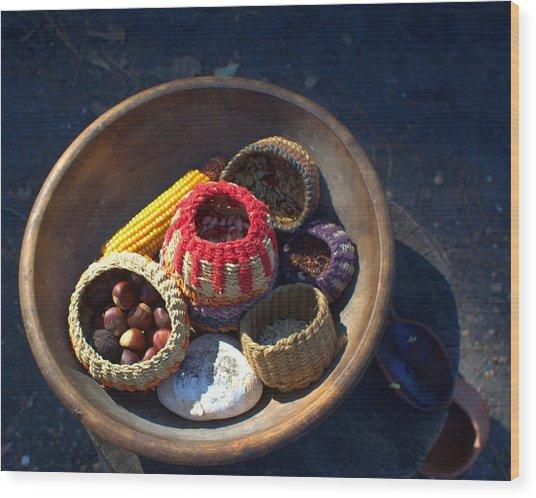 Powhatan Staples Wood Print