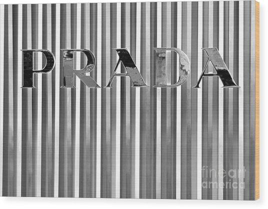 Prada 02 Wood Print