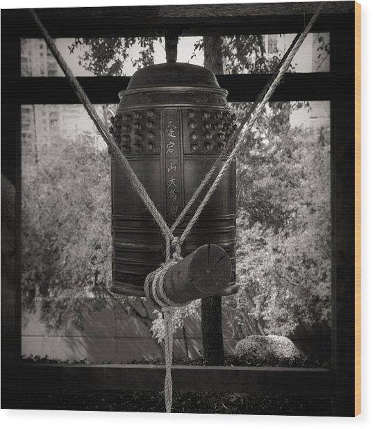 Prayer Bell Wood Print