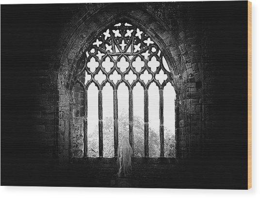 Prayer Wood Print by Ray Clark