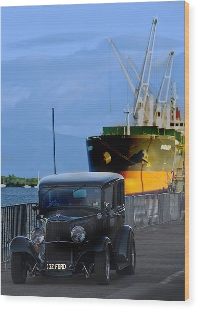 Precious Cargo Wood Print