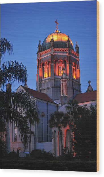 Presbyterian Memorial Church Wood Print