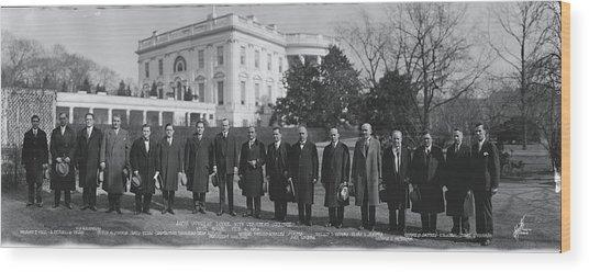 President Coolidge White House Wood Print