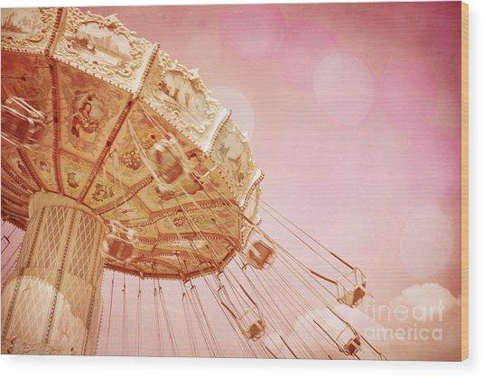 Carnival - Pretty In Pink Wood Print