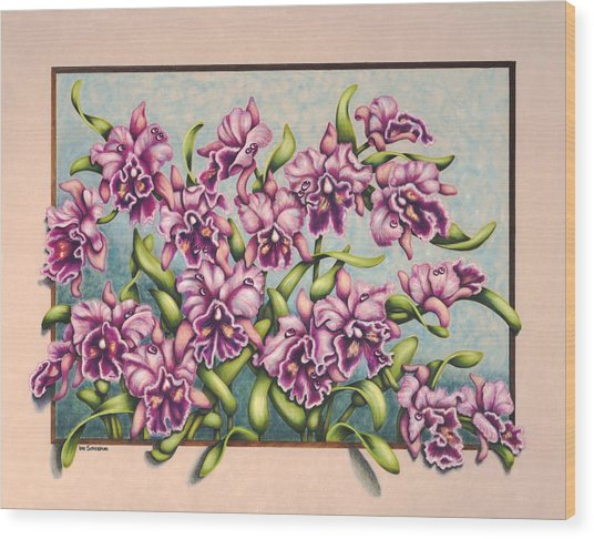 Pretty In Pink Wood Print