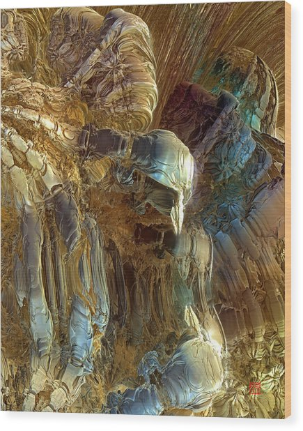Prometheus 4 Wood Print