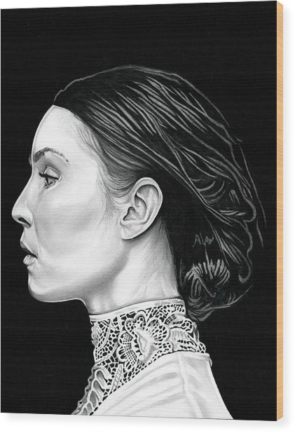 Prometheus - Noomi Rapace Wood Print