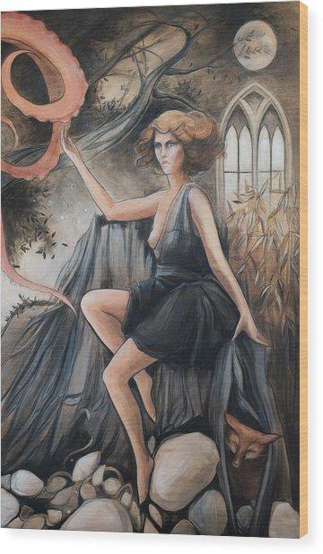 Providence Wood Print