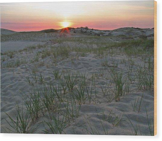 Provinceland Dunes Wood Print