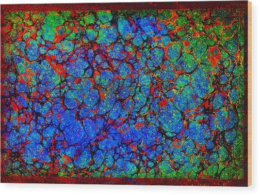 Psychebubbles Wood Print