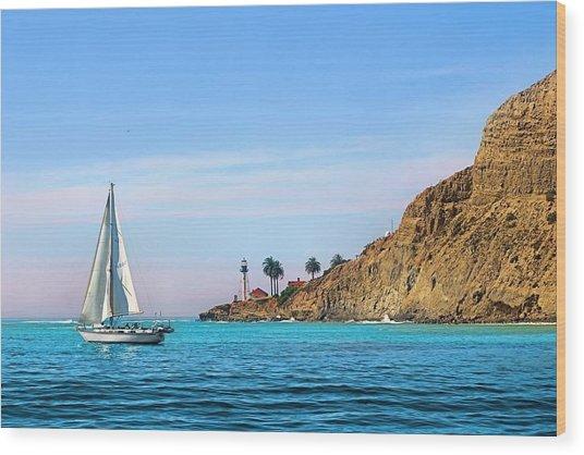 Pt Loma - San Diego Bay Wood Print