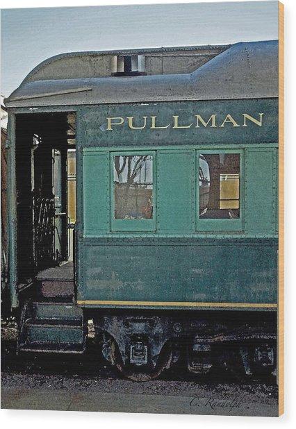 Pullman Wood Print