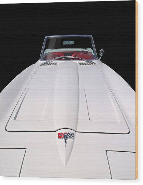 Pure Enjoyment - 1964 Corvette Stingray Wood Print