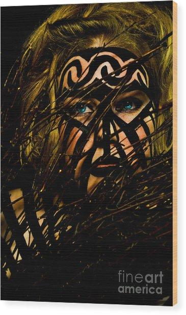 Pw Jk004 Wood Print