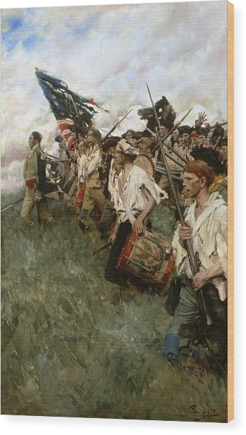 Pyle: Nation Makers, 1906 Wood Print