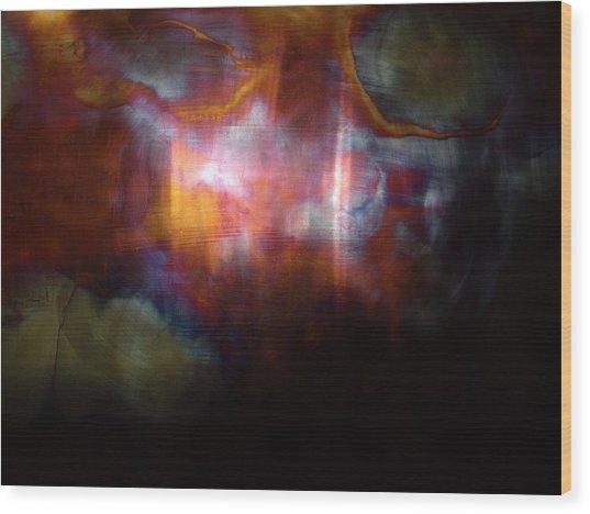 Pyro Genesis Wood Print